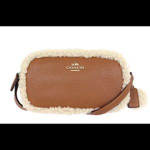 Authentic Coach pouch crossbody purse